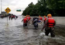 National Guard helps Hurricane Harvey victims