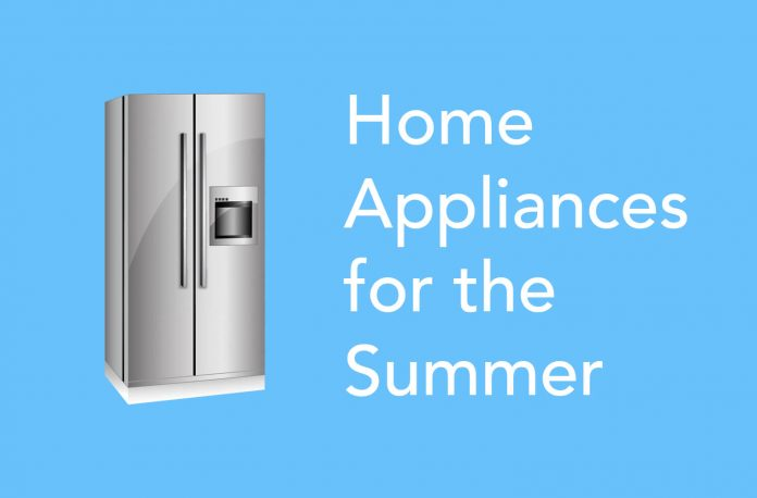 Refrigerator as a home appliance for the summer